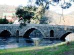 Roman bridge in Vilar de Mouros