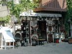 Kalkan village antique shop