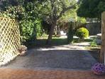 accesso al giardino dalla terrazza