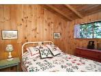 Tree House Cabin Bedroom
