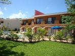 Exclusive Royal Elite Hacienda suites - with semi-private back yards