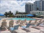 Beachfront Pool and Gym nearby for additional fee