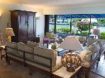 Living room 50' tv