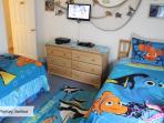 Nemo Twin Bedroom with DVD, PS2, HDTV