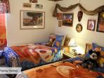 Lion King Twin Bedroom with PS3, HDTV, DED