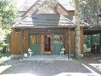 Cozy Adirondack Style Lodge on Lake Fairlee