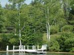 Dock with easy access for the boats