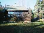 Lovely Two Story All Pine Chalet