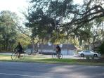 Miles of Bicycle Paths in Palmetto Dunes.  15% discount on bicycle rentals if you rent our villa.