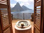 Grotto Suite - Japanese Soak Tub on Terrace