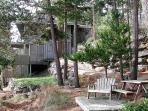 Bask in the sun and enjoy the views on this waterside deck with chairs and picnic table.