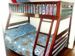 Bunk beds with a double and single