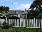House from street showing fence