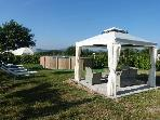 Relax and Love: Gazebo, Sofa, Umbrellas and Beds -Swimming Pool