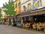 Rue des Lombards, famous jazz clubs - Les jazz clubs de la rue des Lombards