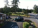 Arial view of property from coffee stand to park next door.