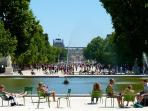 Tuileries garden - Le jardin des Tuileries