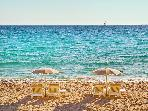 Cannes has fabulous clean beaches with all amenities available.