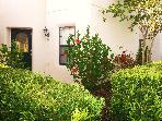 Treefield Villa is on an amazing plot with beautiful gardens.