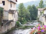 view from village bridge