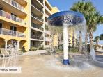 At Azure you'll find two pools and a spray park for the children.