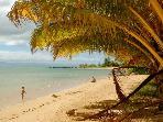 Puko'o Beach looking west