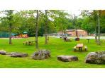 Walk to the heated Minnisink pool, with picnic, playground and lighted tennis courts!
