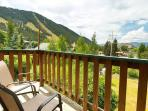 View from deck off of Living Room