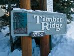 Timber Ridge sign