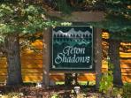Teton Shadows Entrance Sign