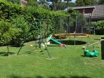 GARDEN WITH CHILDREN'S PLAYGROUND