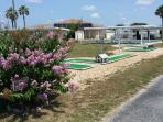 Miniature Golf Course just steps away