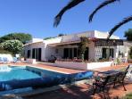Villa espaçosos colina de 5 quartos e piscina