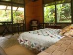Sleep in comfort under ancient Mama Mango Tree amist the wild rainforest