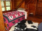 twin bed can be added for additional