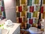 Private bathroom with towels