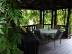 Wine and Dine ,Read or Visit Under the Beauty of the Gazebo