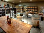Picture of WInery Barrel Room