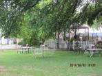 Outdoor picnic/entertaining area