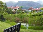 Lush Park for walks on Eden Island