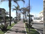Street towards Beach