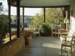 Shaded front porch/verandah