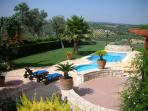 35 sqm pool and garden around!