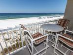 Plenty of comfortable seating on the beach front balcony!