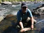 Back country Trout fishing - some of the finest in the world.