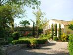 LA TUILERIE--A 17-th century provencal farmhouse updated to 21st-century comfort levels.