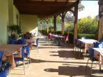 Restaurant at Pizzo Beach