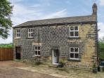 LEAPINGS COTTAGE, detached cottage with snug, woodburner, patio, secret garden, Thurlstone Ref 913420