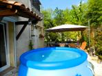 Huge paddling pool to cool off during those hot summer days