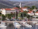 Orebic town and marina